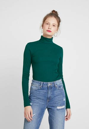 VERENA TURTLENECK - Camiseta de manga larga - dark green