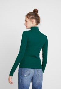 Weekday - VERENA TURTLENECK - Topper langermet - dark green - 2
