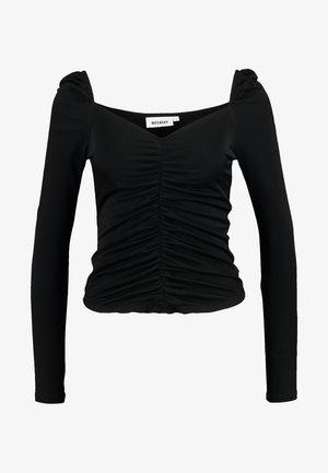 ELOISE - T-shirt à manches longues - black
