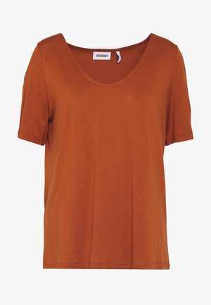 ABBY - T-shirt basique - rust