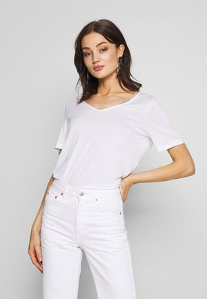 ABBY - T-shirt basic - white