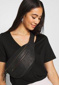Weekday - ABBY - T-shirts - black - 3