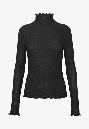 BARBARA LONG SLEEVE - Maglietta a manica lunga - black