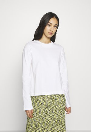 CARRIE LONG SLEEVE - Long sleeved top - white