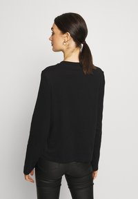 Weekday - CARRIE LONG SLEEVE - Maglietta a manica lunga - black - 2