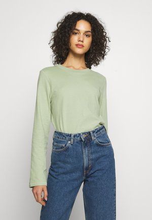 CARRIE LONG SLEEVE - Langærmede T-shirts - light dusty green