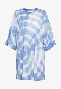 Weekday - HUGE - T-shirt print - blue - 4