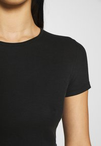 Weekday - TERESA - T-shirts - black
