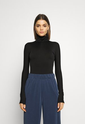 MIRANDA TURTLENECK - Topper langermet - black