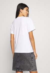 Weekday - ALANIS 2 PACK - T-shirts - white - 3