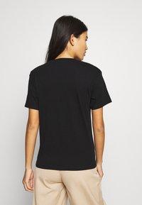 Weekday - ALANIS 2 PACK - T-shirts - black/black - 3