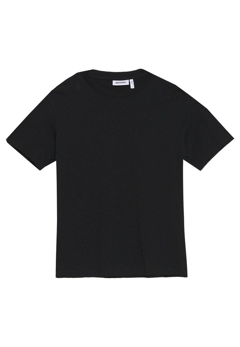 Weekday ALANIS 2 PACK - T-shirts - black/white