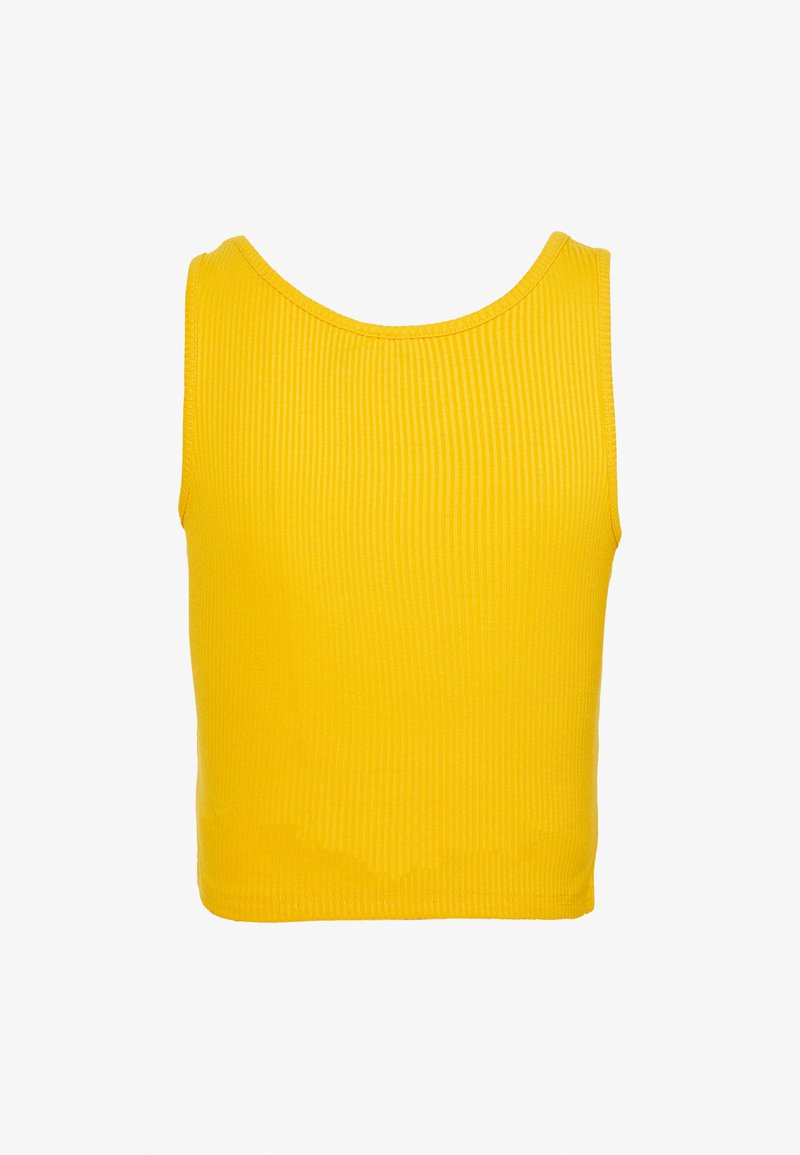Weekday NOVELLA SINGLET - Top - warn yellow WWK38f per la promozione
