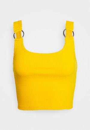 PIERA SINGLET - Top - warm yellow