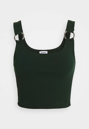 PIERA SINGLET - Top - bottle green