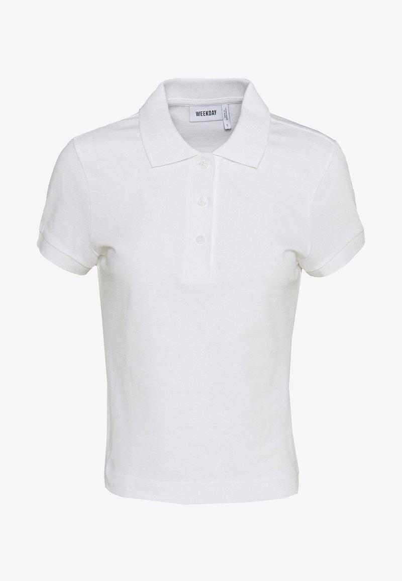 Weekday - ORIA  - Polo shirt - white