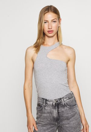 AMOYA TANK - Top - grey melange