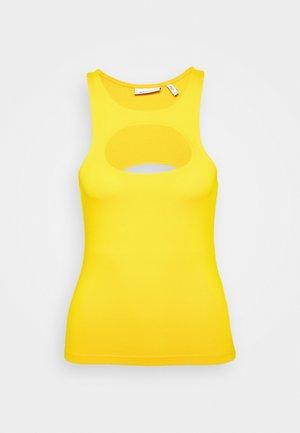 TADDEA TANK - Top - warm yellow