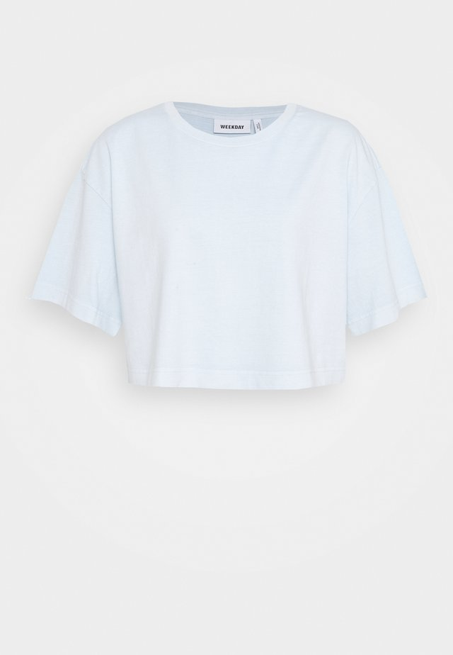 ALLY - T-shirt basic - light blue