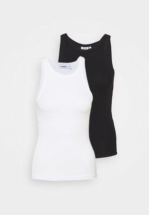 BETH 2 PACK - Top - black /white