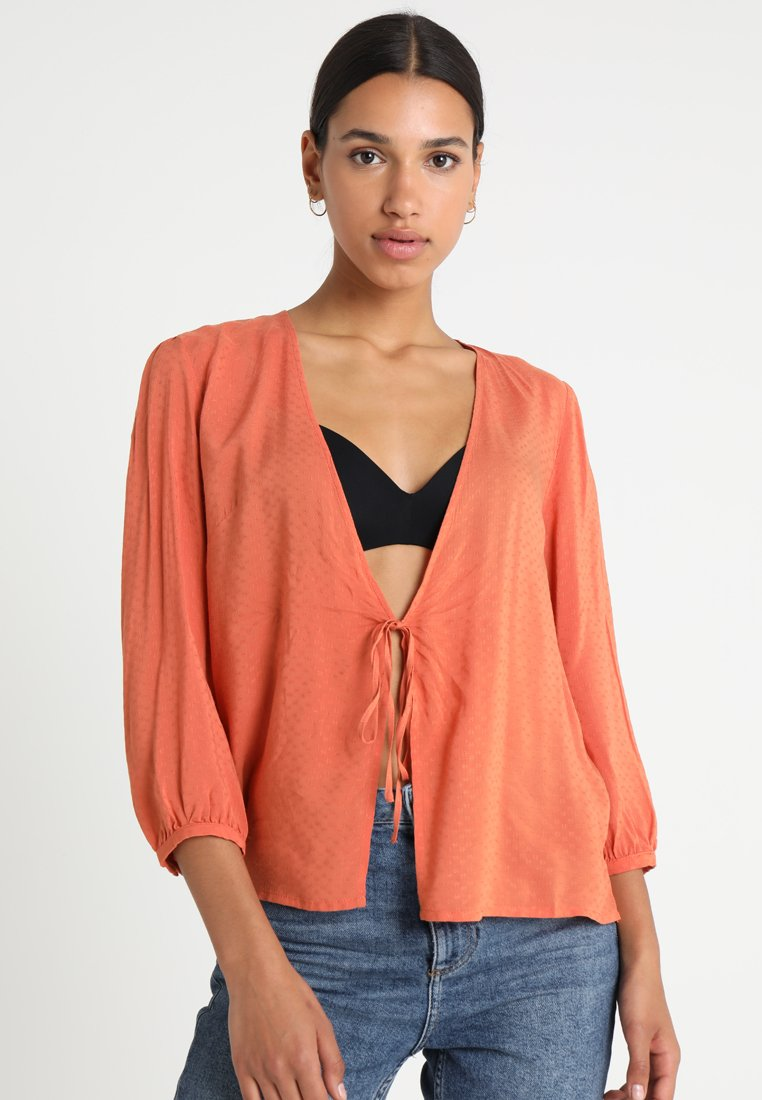 Weekday - EPITONIC BLOUSE - Blouse - orange