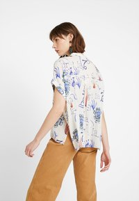 Weekday - TILLIE  - Camicia - offwhite/purple - 2