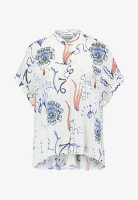 Weekday - TILLIE  - Camicia - offwhite/purple - 3
