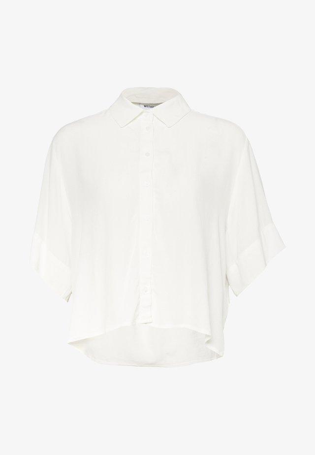 HALL - Button-down blouse - white