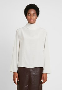 Weekday - EVELINA BLOUSE - Blouse - off white - 0