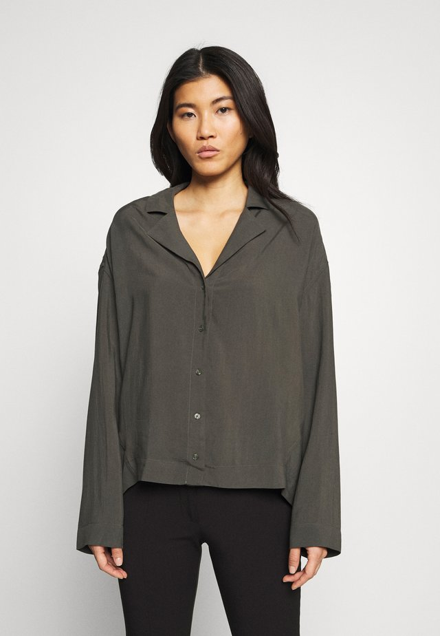 ARIN  - Button-down blouse - dark green