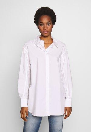 CHARLI POPLIN SHIRT - Overhemdblouse - white