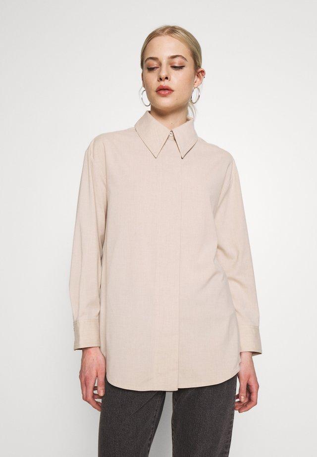 RIYA SHIRT - Bluzka - medium beige