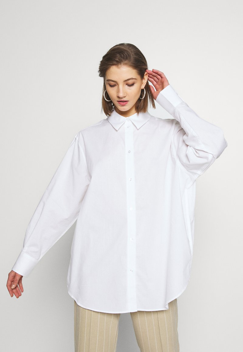 Weekday - EDYN SHIRT - Camicia - white