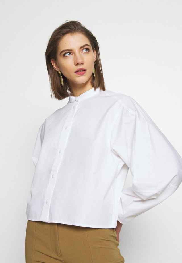 KARA BLOUSE - Button-down blouse - white