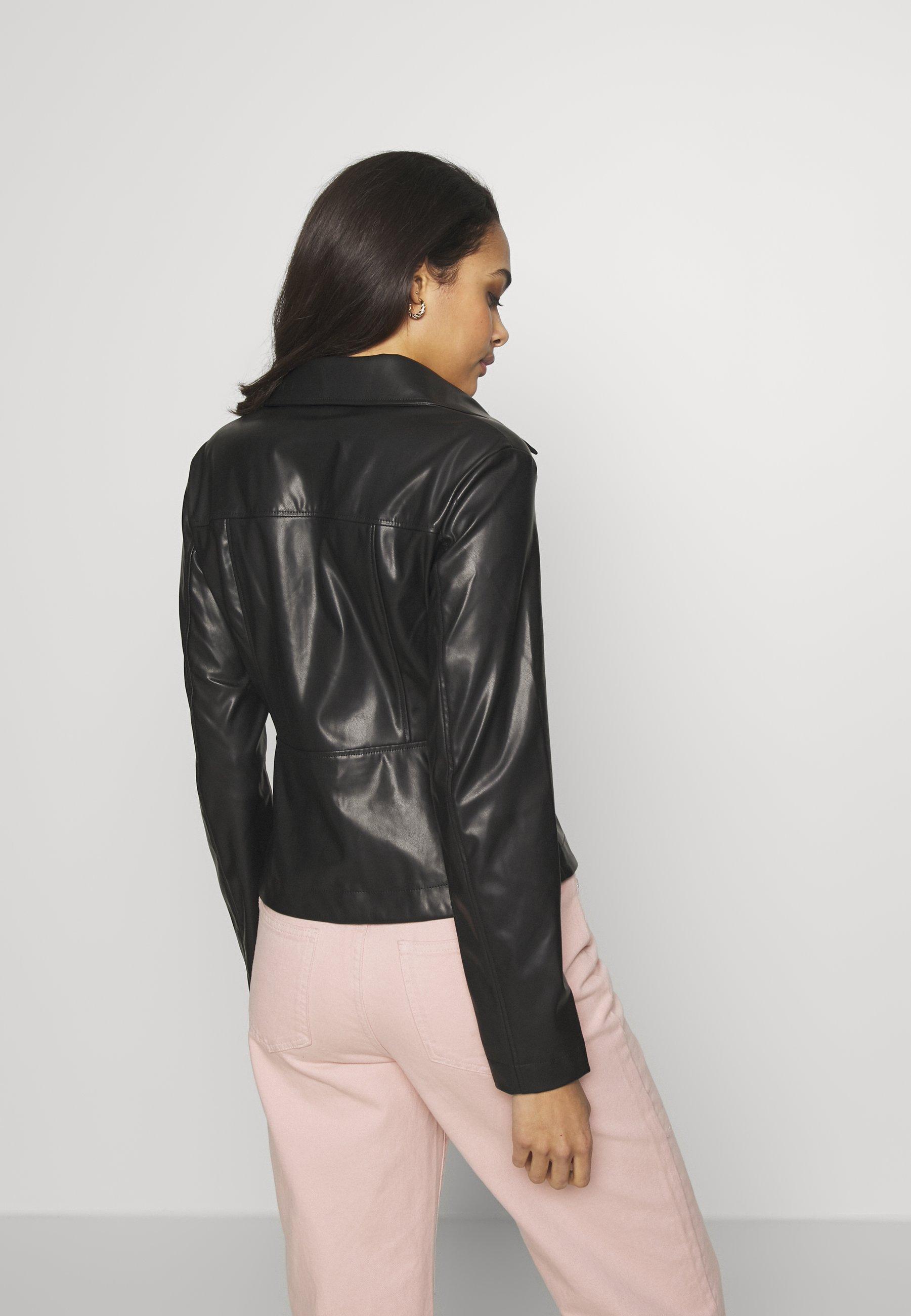 Weekday VIVIANA BLOUSE - Skjorte - black