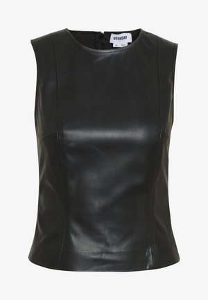 ALINA TOP - Blusa - black