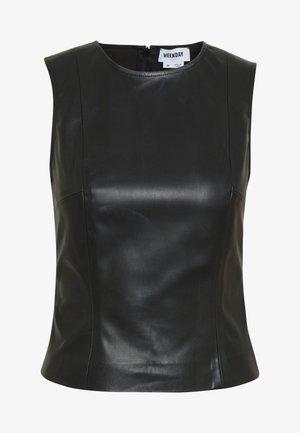 ALINA TOP - Bluser - black