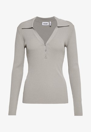 FLAVIA - Long sleeved top - light grey