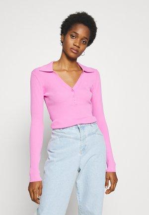 FLAVIA - Top sdlouhým rukávem - bright pink