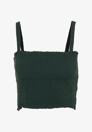 KAYDEN TOP - Topper - dark green