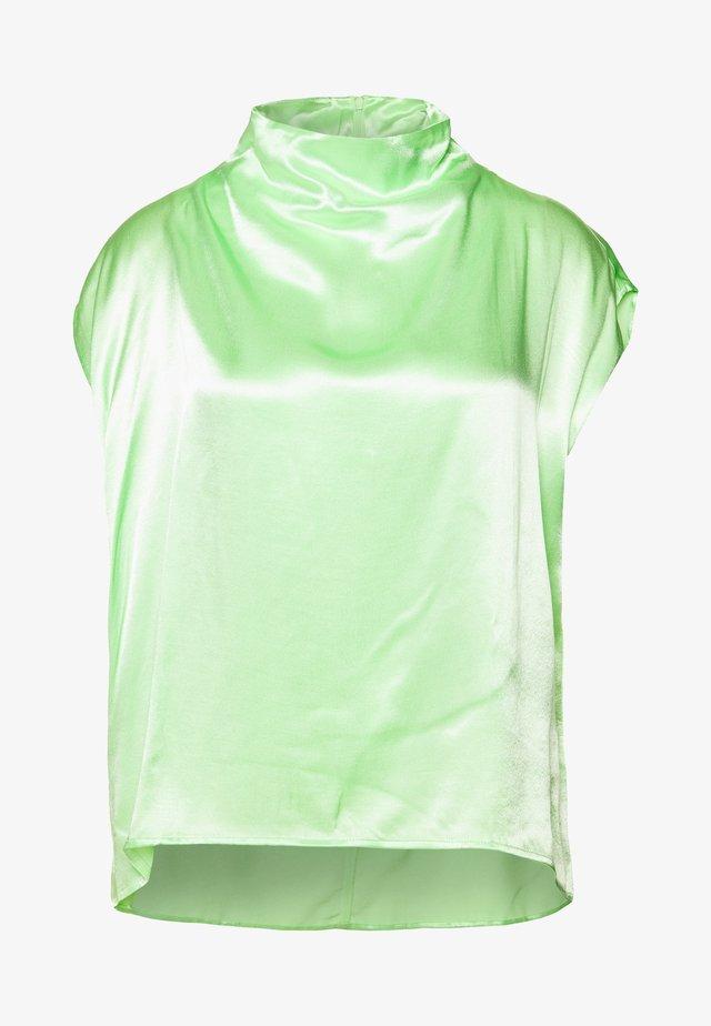 RAYNE SHORT SLEEVED BLOUSE - Bluzka - bright green