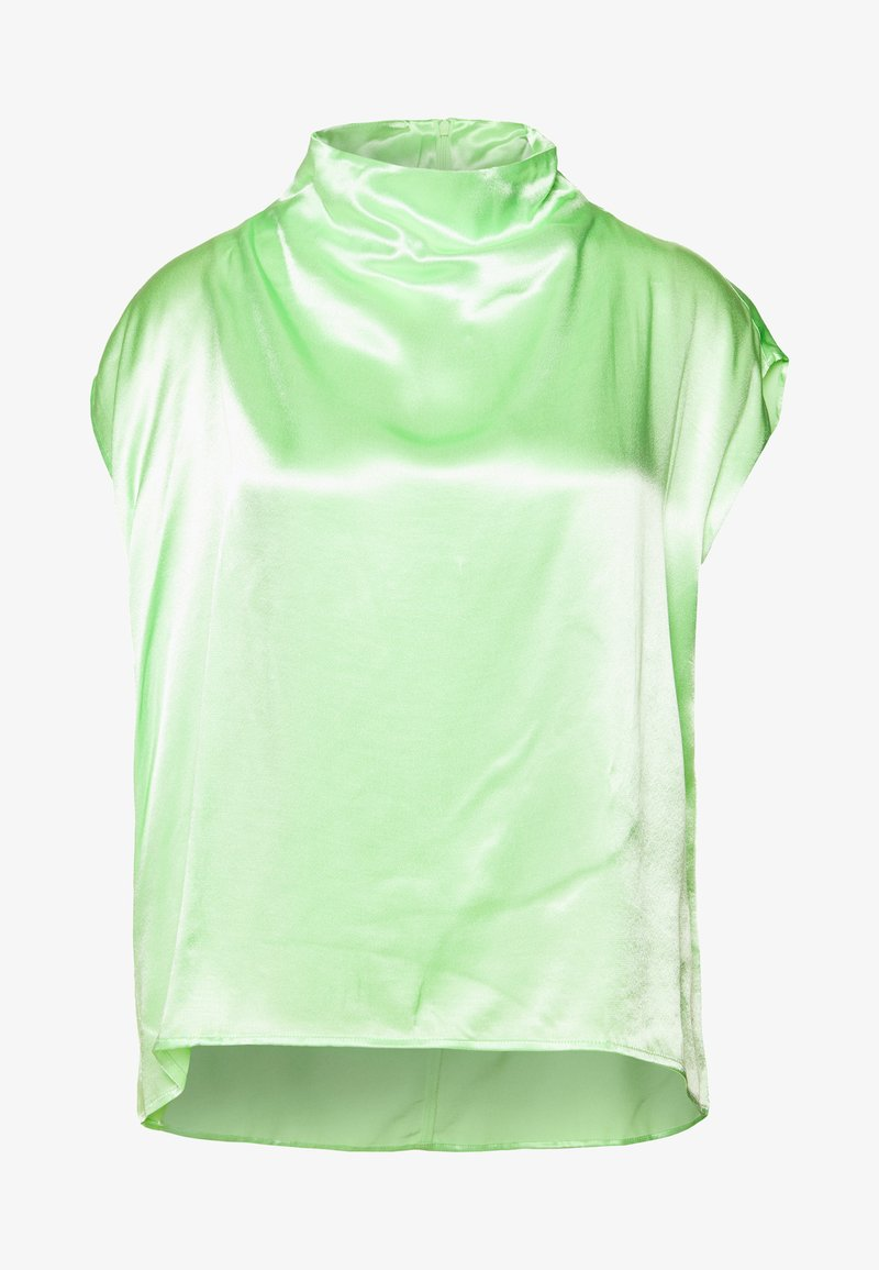 Weekday - RAYNE SHORT SLEEVED BLOUSE - Bluse - bright green