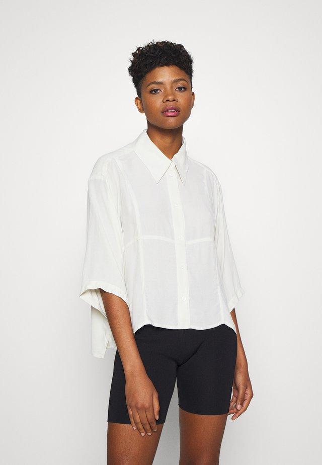 HEIDI - Button-down blouse - light beige