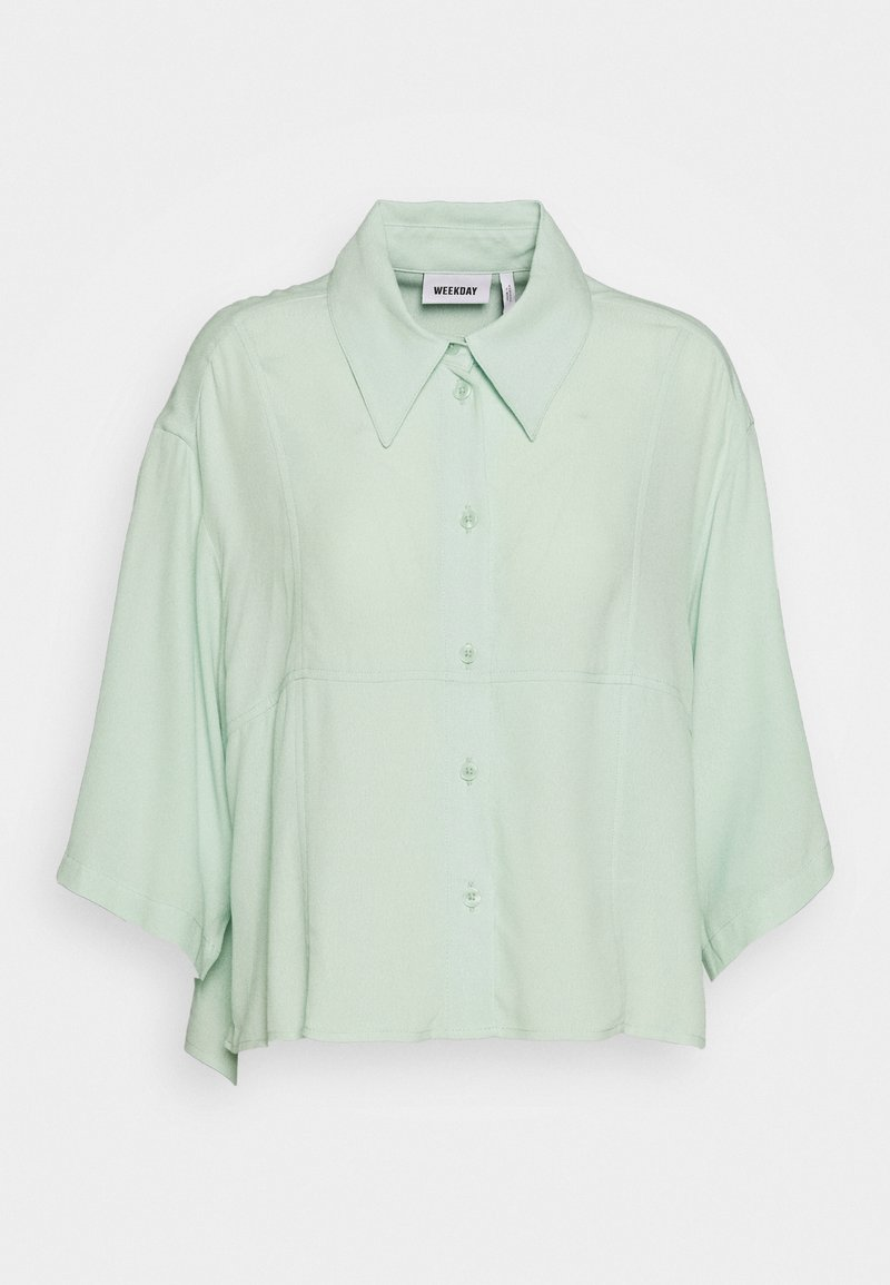 Weekday - HEIDI - Camicia - light green