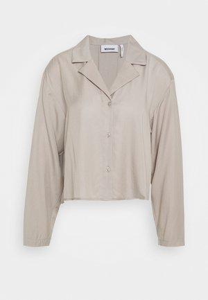 FILIPPA BLOUSE - Button-down blouse - grey