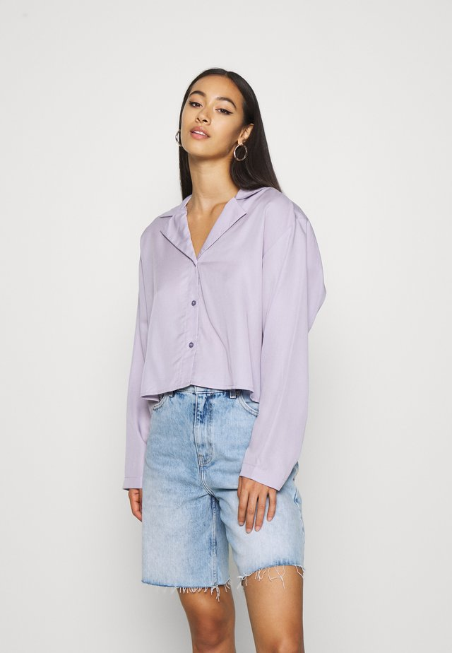 FILIPPA BLOUSE - Overhemdblouse - dusty purple