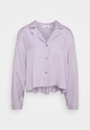 FILIPPA BLOUSE - Button-down blouse - dusty purple