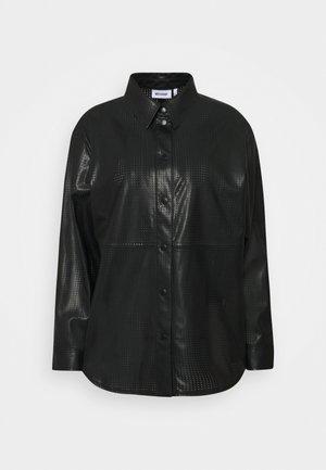 LEXI PERFORATED - Paitapusero - black
