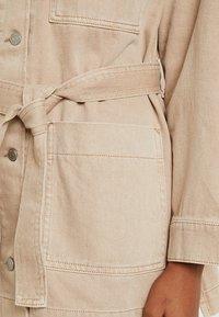 Weekday - CRUZ WORKER - Krátký kabát - sand - 5