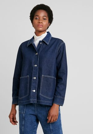 JACKET - Jeansjacke - medium dusty harbor blue